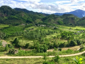 Đa dạng sử dụng đất ở A Roàng (Ảnh: NTD)